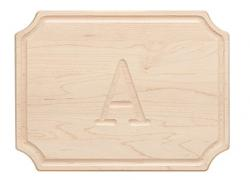 Rectangular Cutting Board w/ Scalloped Corners Small 9